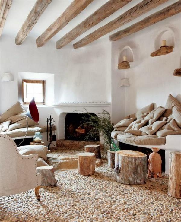 Vigas de madera un cambio de look sorprendente oasisingular - Vigas de madera huecas ...