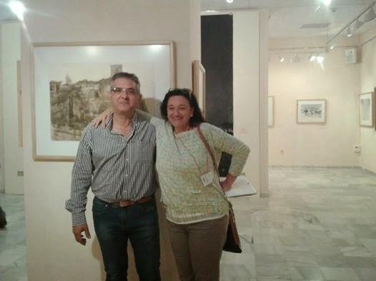 """Con mi amiga Isabel """"Alosete"""""""
