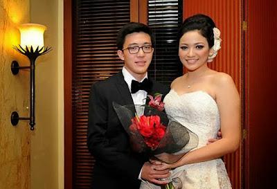 Foto Pernikahan Agni Pratistha dan Ryan Monoarfa