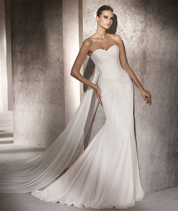 Inner peace in your life the most beautiful wedding dress for A pretty wedding dress