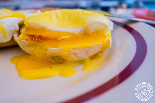 image of Eggs benedict at Schnackenberg's in Hoboken, NJ