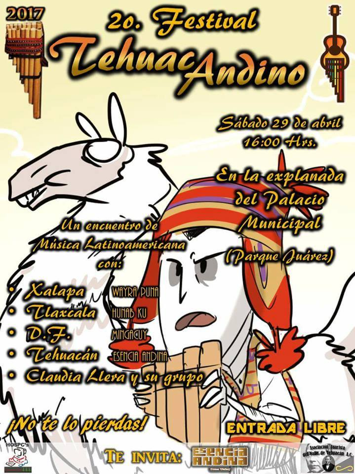 2do FESTIVAL TEHUAC ANDINO - TEHUACAN PUEBLA MEXICO