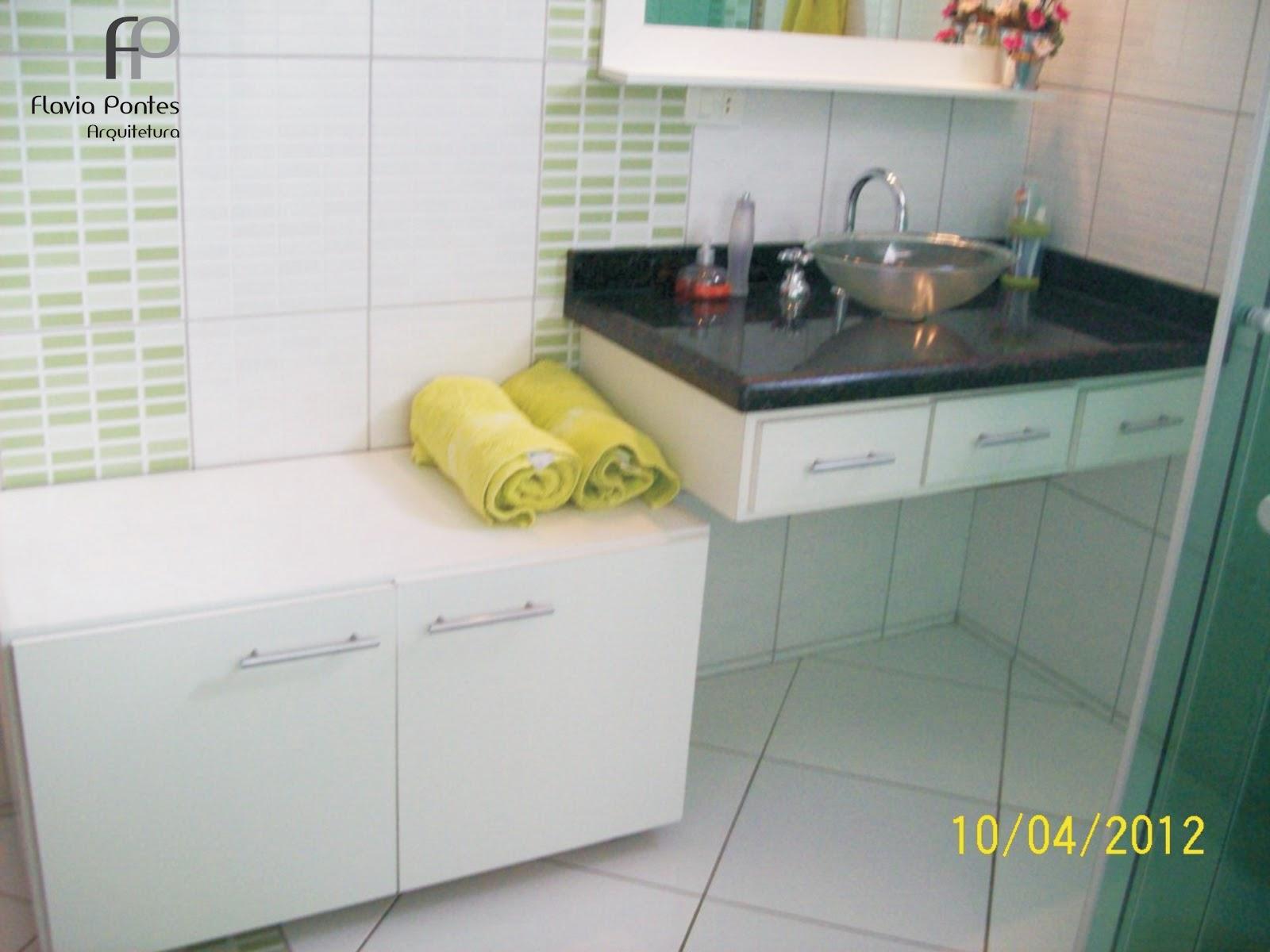 Postado por Flavia Pontes Arquitetura às 17:04 #9D932E 1600x1200 Arquitetura Banheiro Social