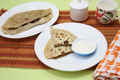 Spice Your Life Afghani Bolani Kadoo With Yogurt Dip