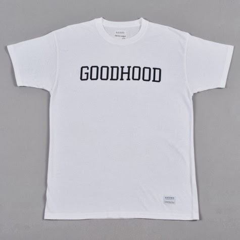 goods by goodhood, goodhood shoreditch london, box logo white t shirt, menswear blog