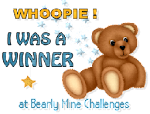 thank you Bearly Mine Challenges