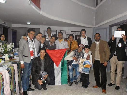 مكناس: تلاميذ يكشفون عن مواهب فنية عالية في أيام تضامنية لجمعية المسار مع القضية الفلسطينية