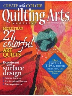 Quilting Arts Aug/Sept 2014