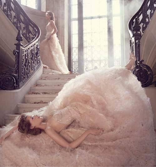 2015 Spring Wedding Dress Ideas from Lazaro