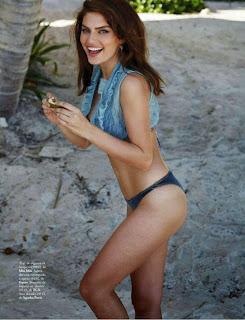Alyssa Miller goes Bikini Nude for Top Summer Photoshoot ELLE Spain June 2015