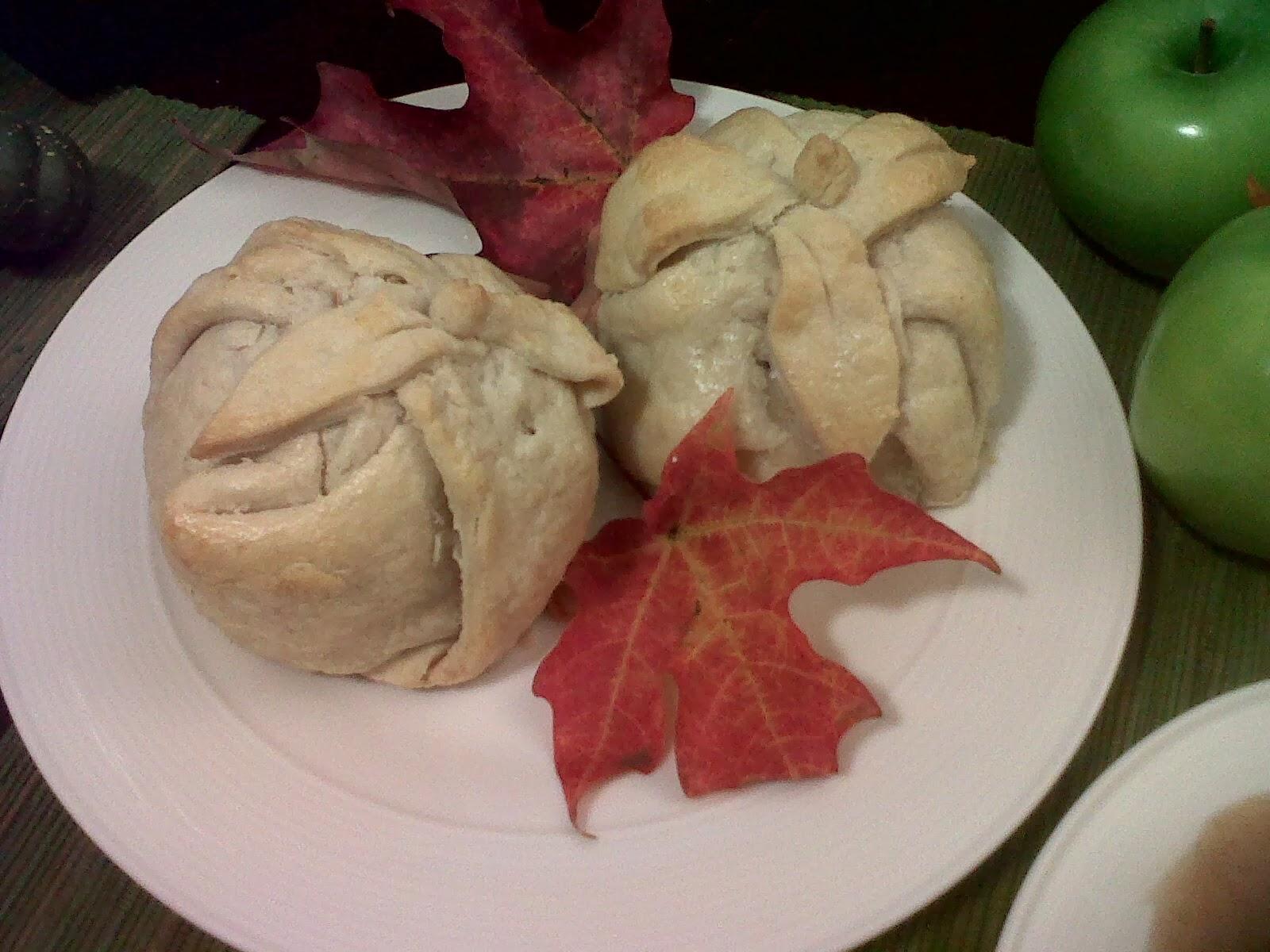 apple dumplings with cinnamon sauce 4 medium granny smith apples 1 2 ...