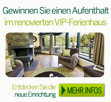 VIP Ferienhaus Gewinnspiel