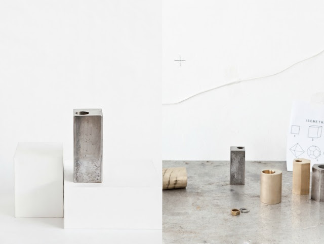 {Design} Anna Leena's candle holders