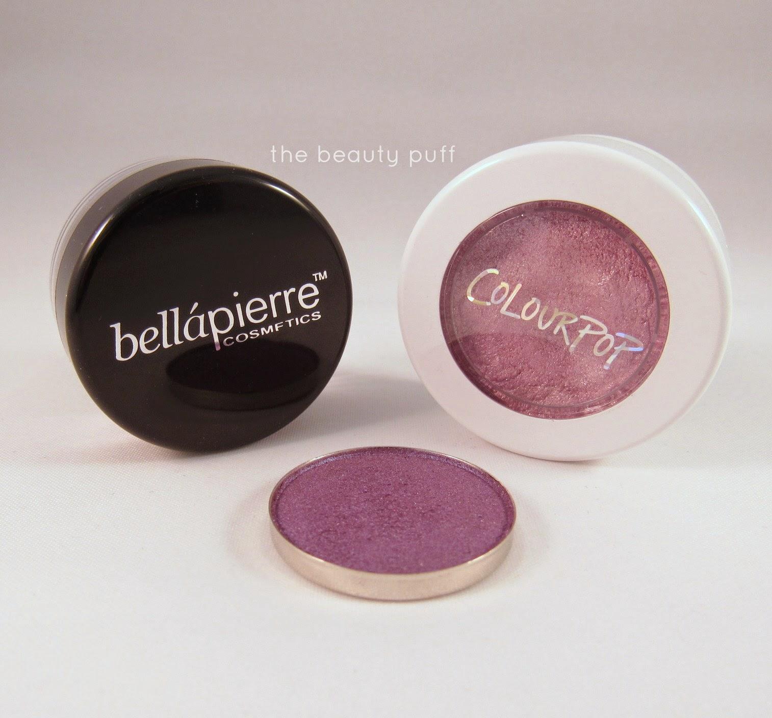 bellapierre colour pop morphe brushes purple - the beauty puff