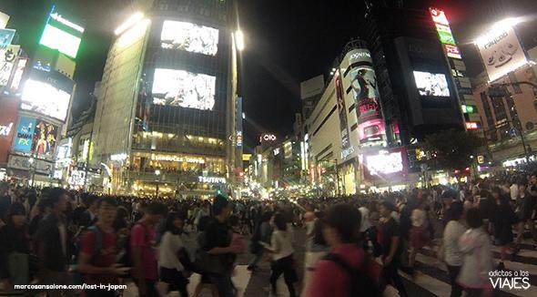 Cruce de Shibuya, Tokyo