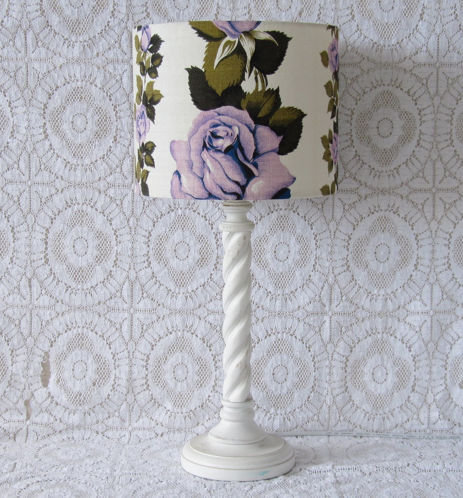 Small Things Simple Pleasures: How to make a lampshade