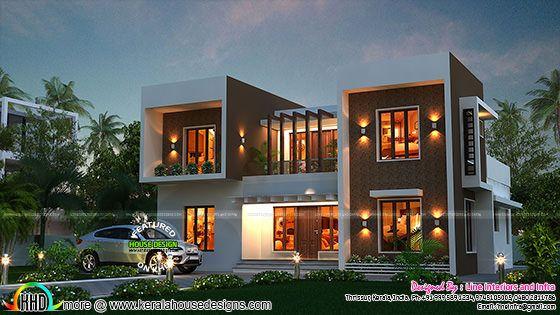 Stunning box type home