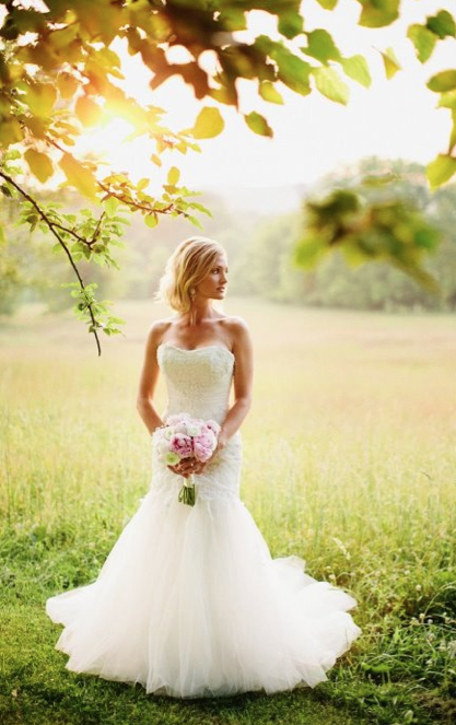 Pink princess meets country queen burlap bling the for Southern country wedding dresses