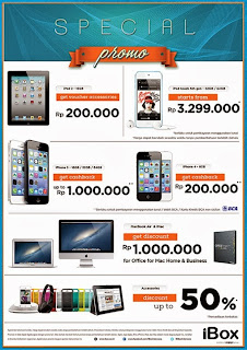 iBox Special Promo Cashback   Discount Sampai Rp 1 Juta