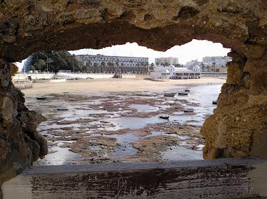 La Caleta desde el Castillo de Santa Catalina