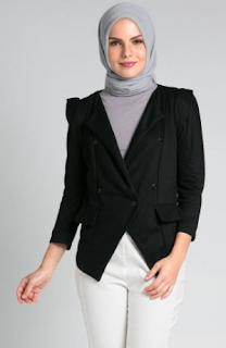 Desain Baju Muslim Blazzer Masa Kini