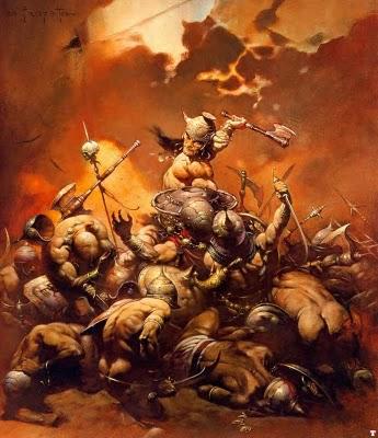 Conan, Frank Frazetta, Artist, the Red Rabbit