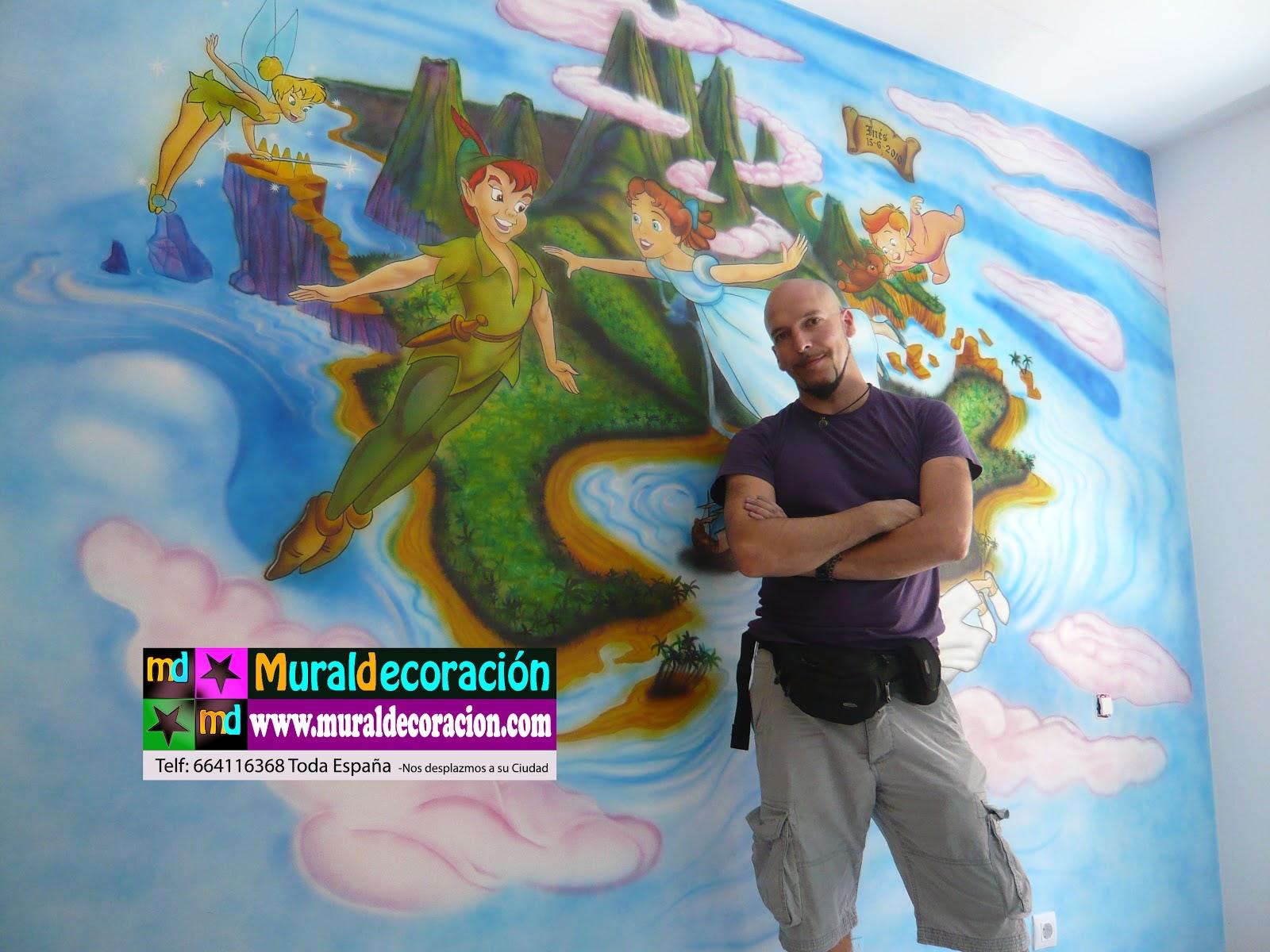 Murales infantiles aerografia pictures for Murales infantiles