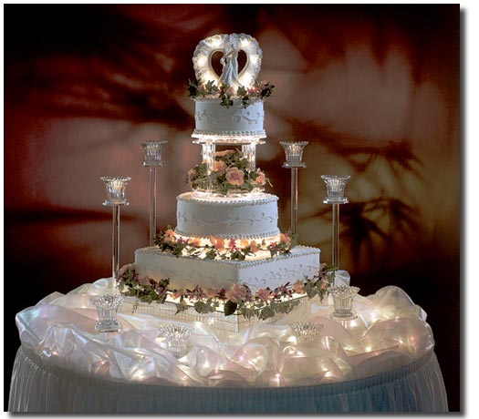 Cake Table Decoration For Engagement : All About The Wedding Celebration: Unique Wedding Cakes