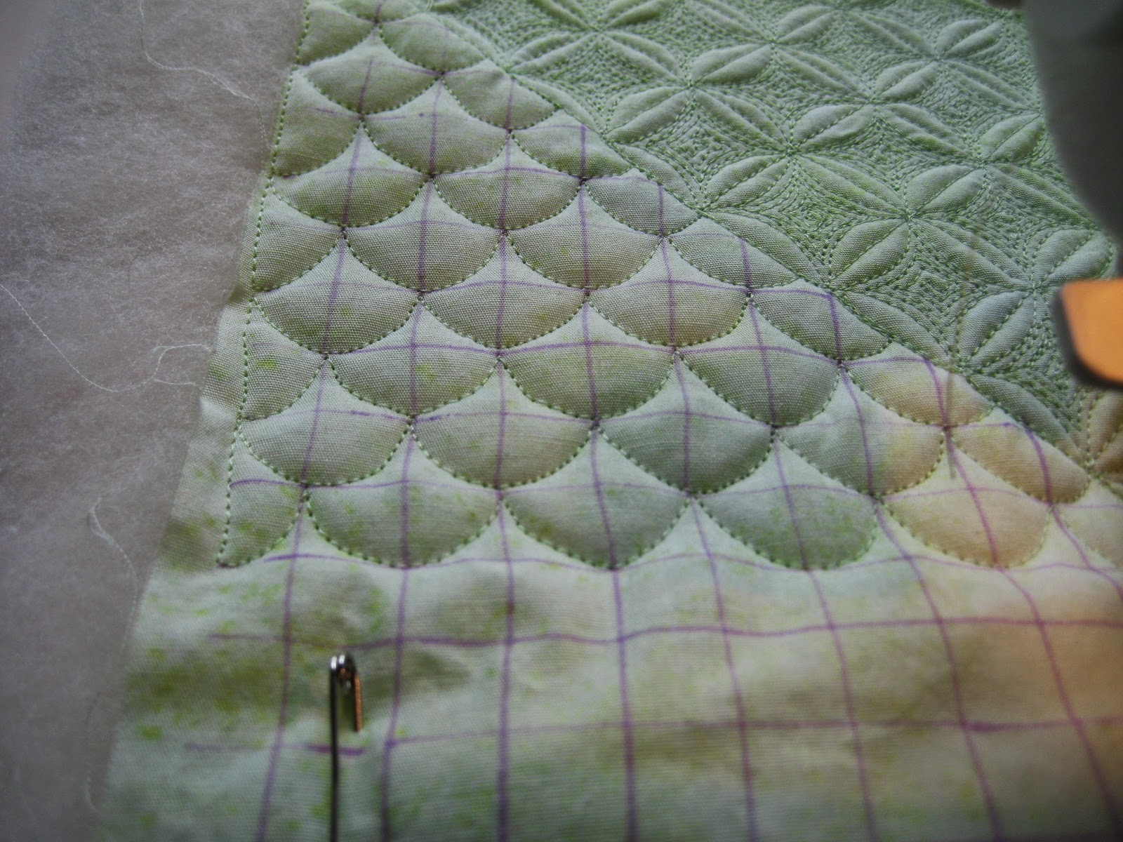 Free Motion Monday Quilting Adventure: Grid-Based Designs Week 5 ...