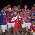 Final do campeonato Kassius Klley de futebol de areia