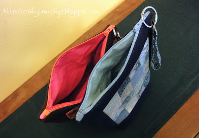 Oh, Fransson! zip pouches, style C, top view