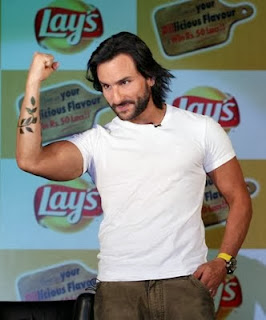 Saif Ali Khan Tattoo Kareena Kapoor's Name