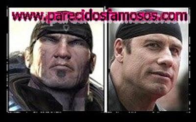 Marcus Fenix con John Travolta