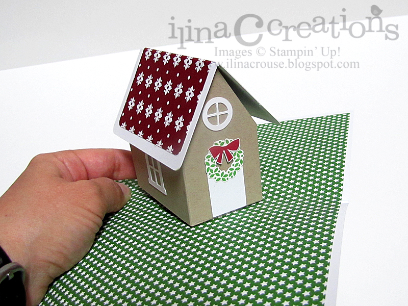 pop up christmas card instructions