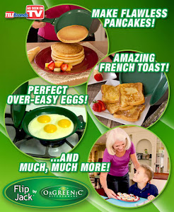Flip Jack Is The Easiest Way To Get Flawless Pancakes!