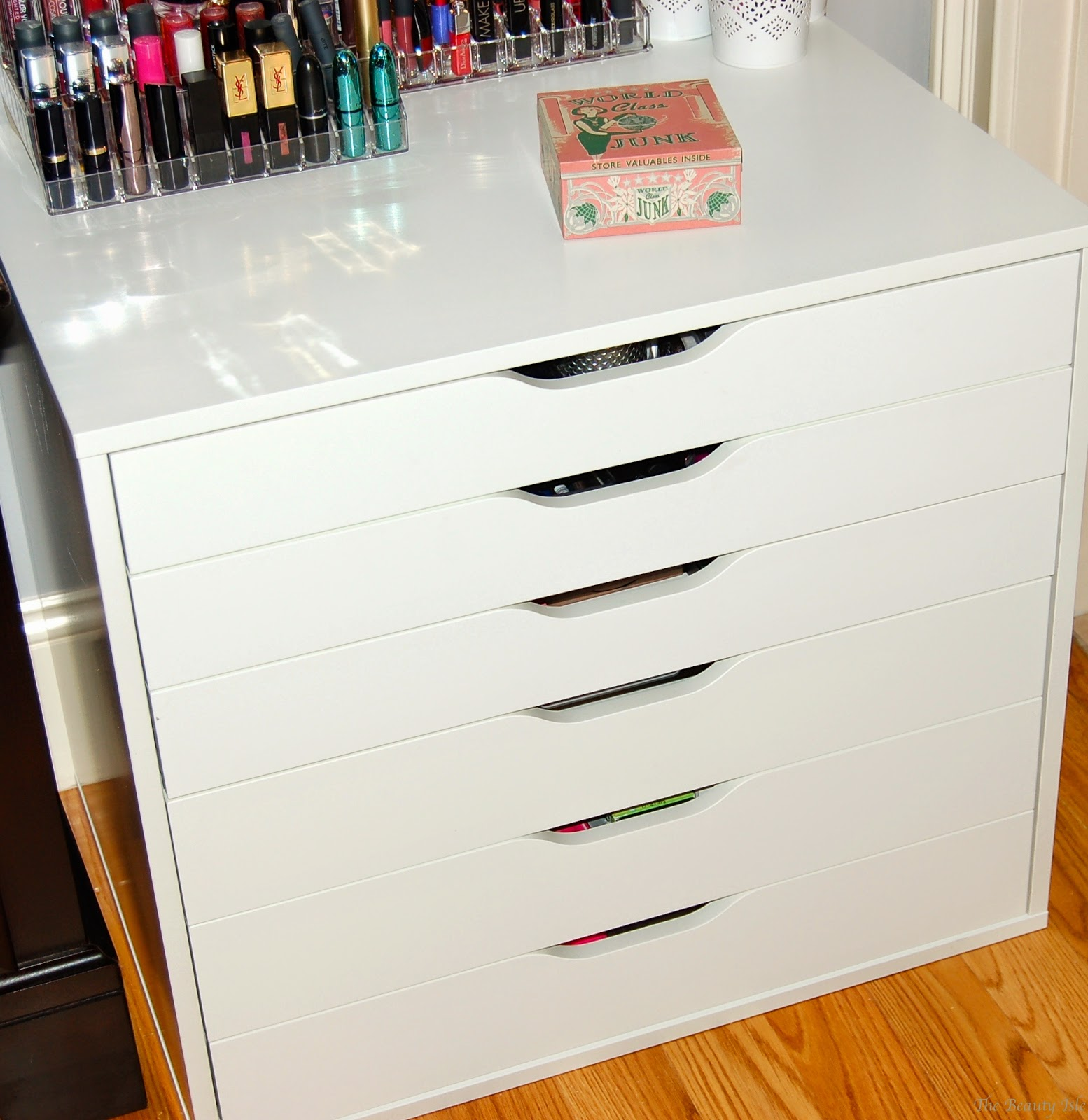 Makeup Collection & Storage 2015 - Part 1 Ikea Alex Dresser | The ...