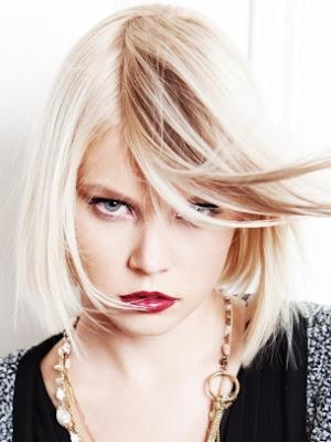 pelo elegante para mujer