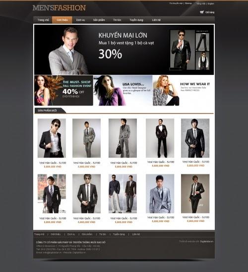 thiết kế website bán hàng rẻ tại hà nội