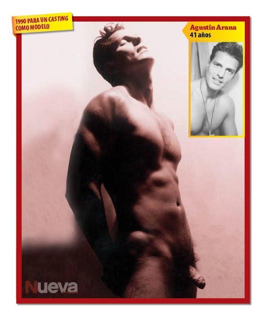 Agustin Arana Desnudo