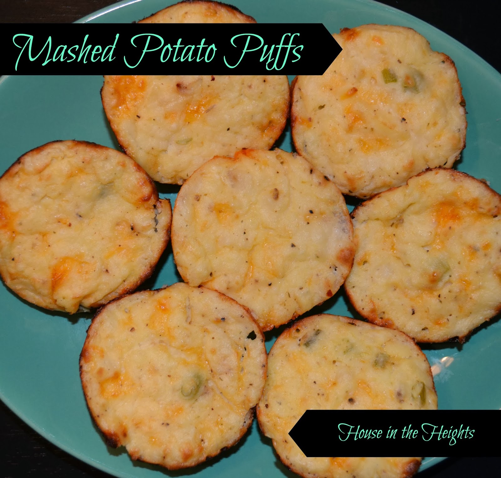 House in the Heights: What We Ate {Mashed Potato Puffs}