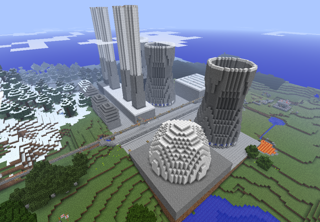 minecraft building ideas  nuclear power plant