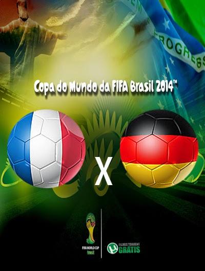 Franca x Alemanha Quartas de Final Copa do Mundo 2014