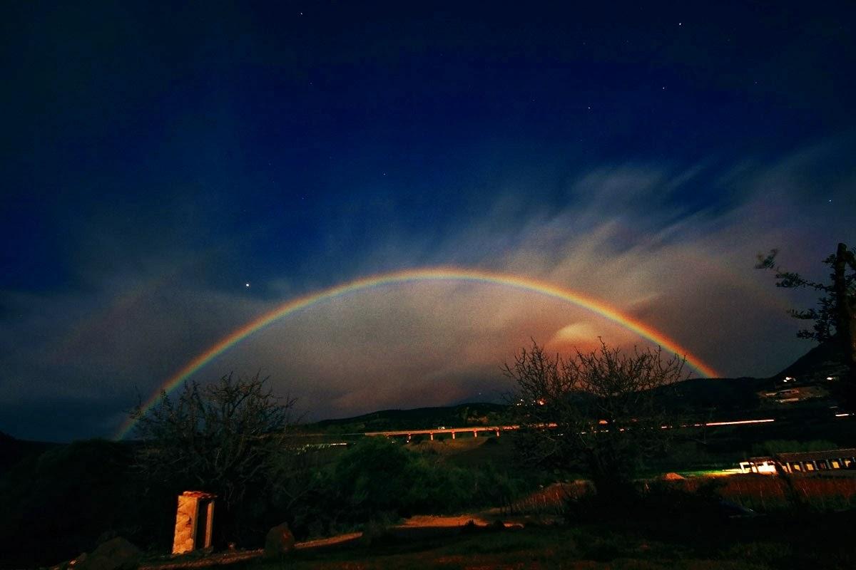 Treccenere l 39 arcobaleno di notte - Immagini di gufi arcobaleno ...