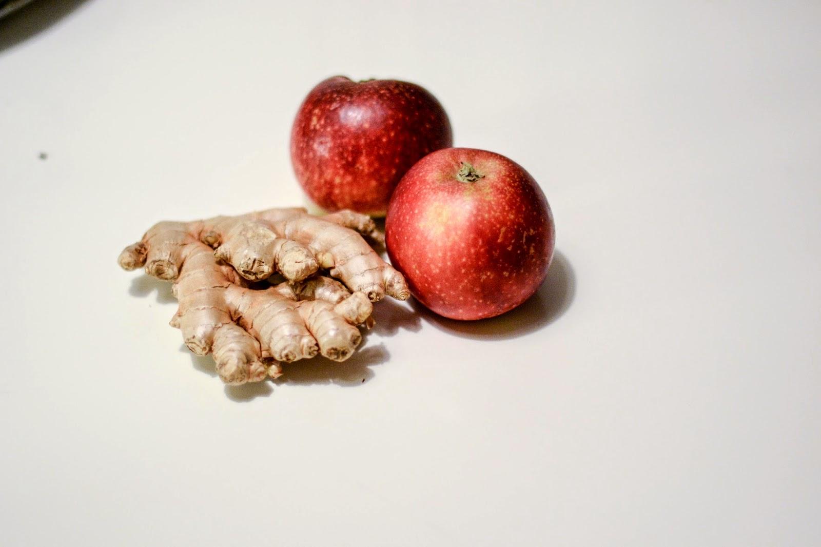 ingefær æble