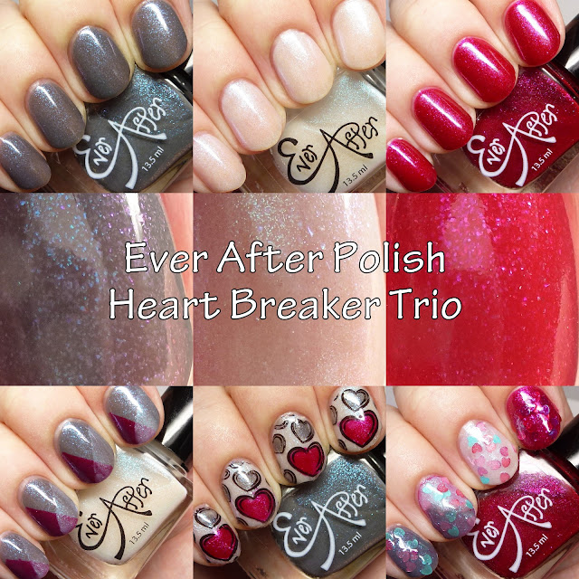Ever After Polish Heart Breaker Trio