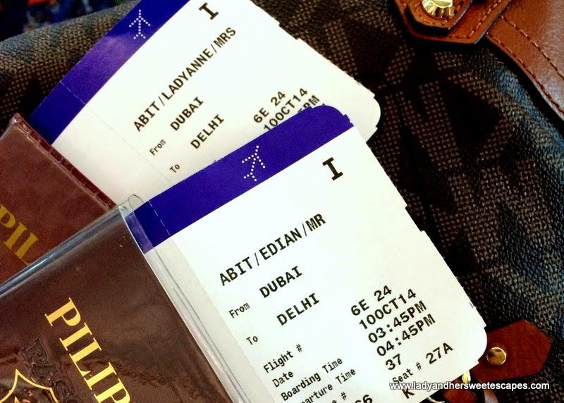 flight from Dubai to New Delhi