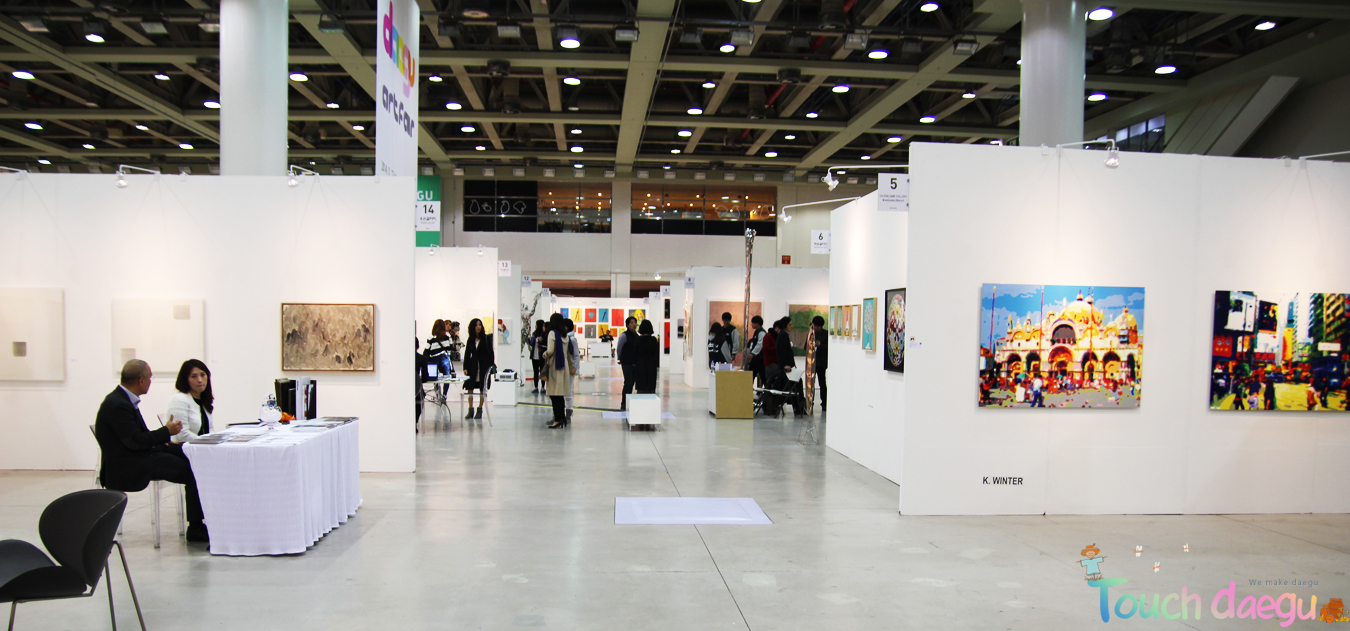 Gallery booths