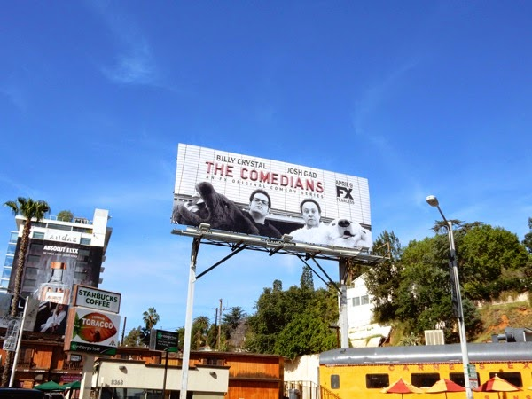 The Comedians season 1 billboard