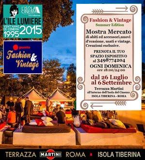 Fashion & Vintage - Roma 26/7 - 6/9/2015