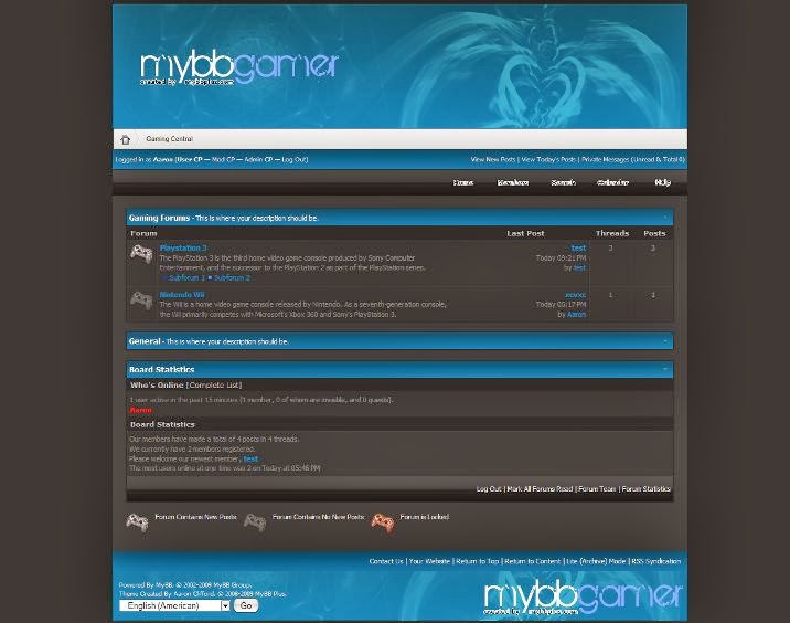 myBB Gamer